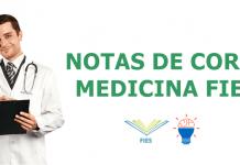 Notas de Corte Medicina FIES