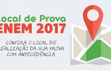 Locais de Prova Enem 2017 Página do Participante