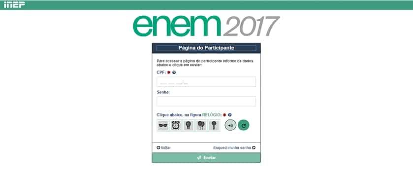 Resultado Enem 2017