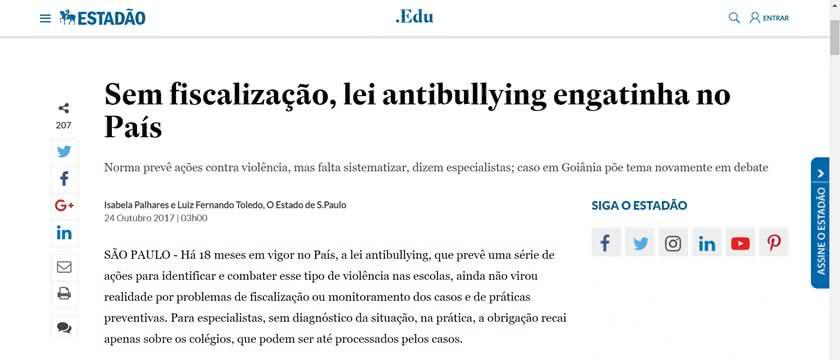Bullying Nas Escolas Brasileiras Redação Enem