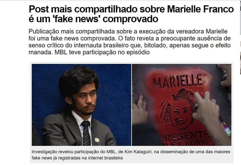 Fake News e seus impactos na sociedade brasileira 1