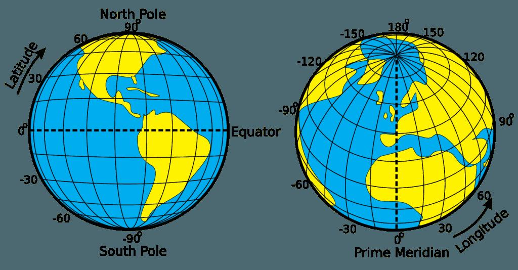 Latitude e Longitude - Cartografia no Enem