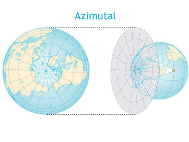 Cartografia: coordenadas, fusos horários, mapas e projeções