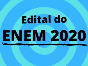Edital Enem 2020