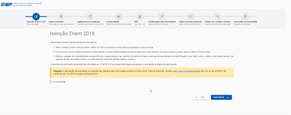 Isenção Taxa de Inscrição do Enem 2020 - Saiba como solicitar
